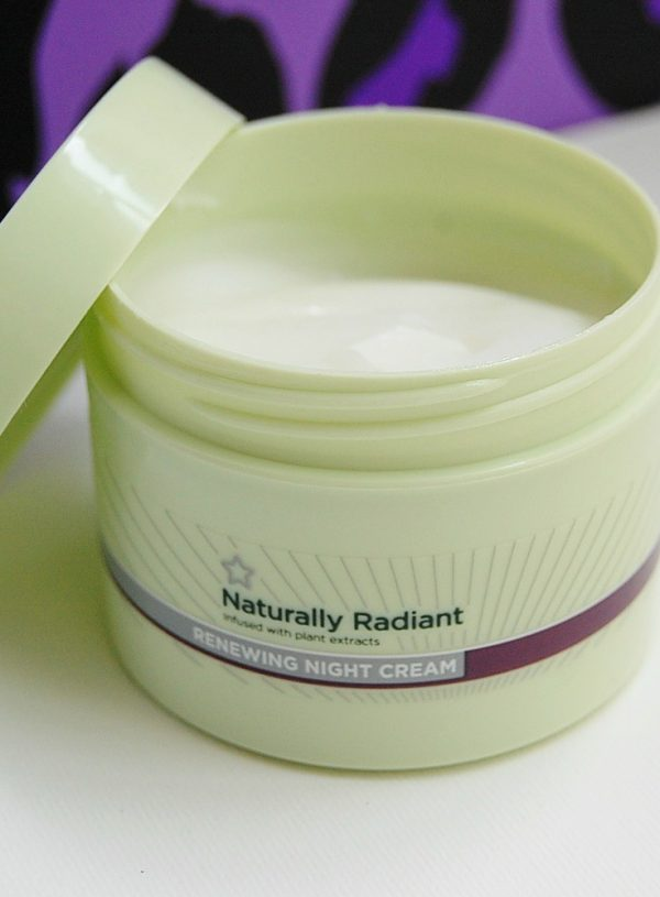 Superdrug Naturally Radiant Renewing Night Cream