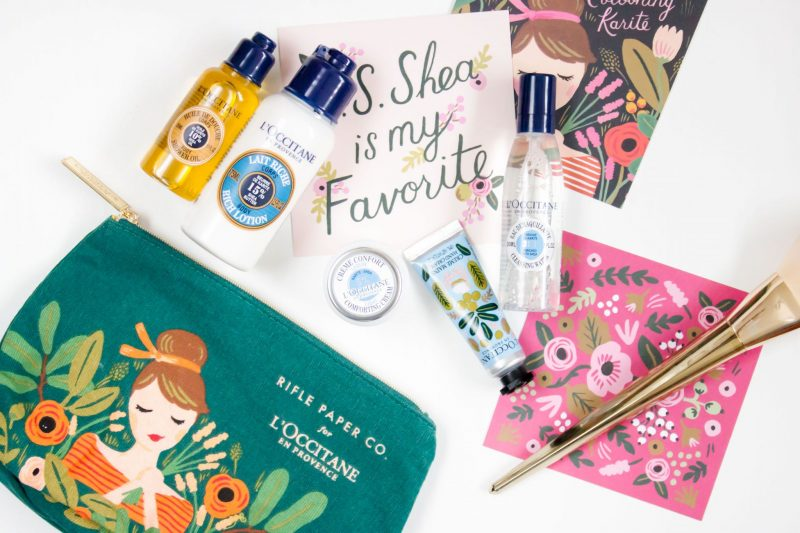 Rifle Paper Co for L'Occitane