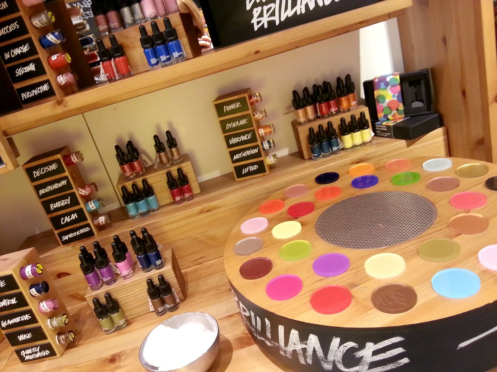 Birmingham Blogger Meet Up LUSH