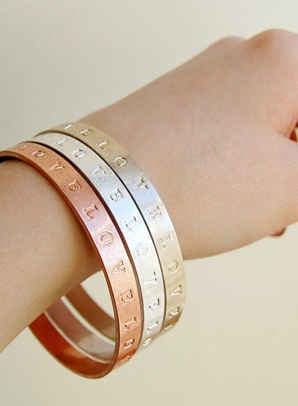 Jewellery #1: Accessorize Love Bracelet