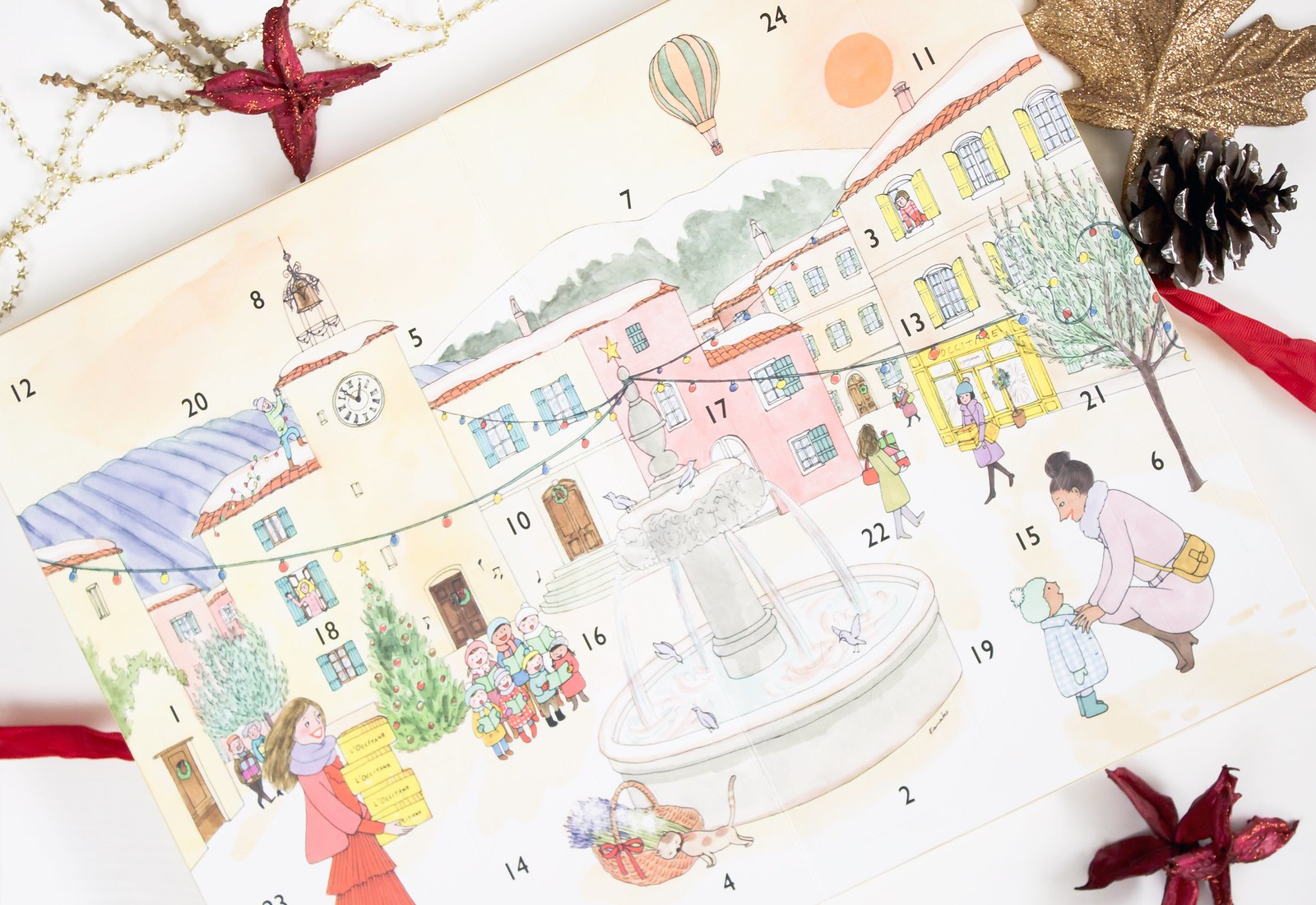 L'Occitane Classic Beauty Advent Calendar