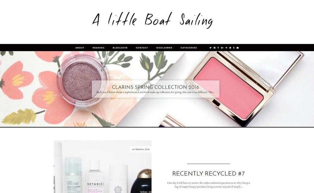 A Little Boat Sailing Blog