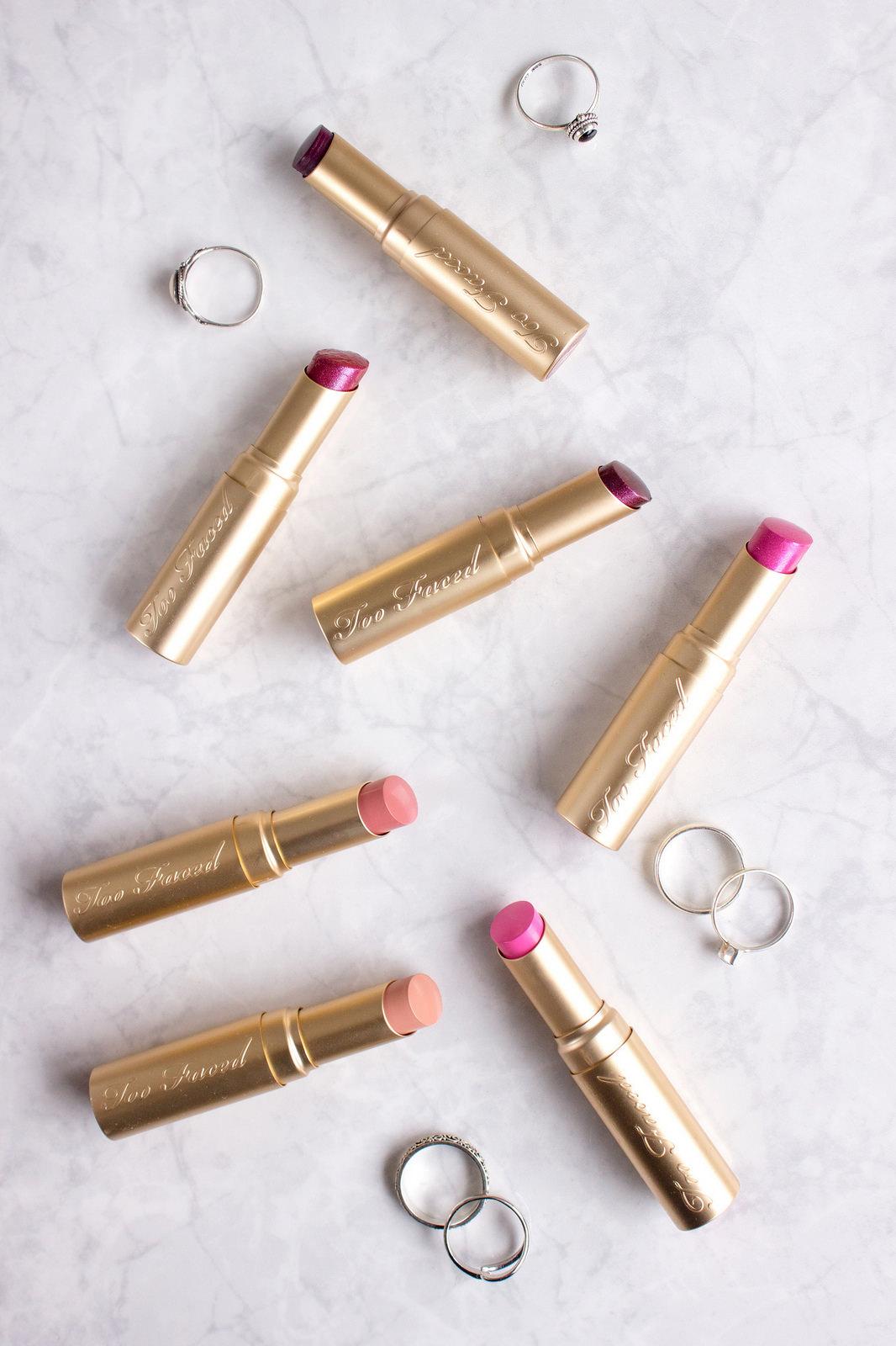 Too Faced La Crème Lipsticks
