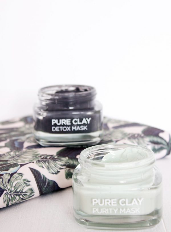 L'Oreal Pure Clay Masks