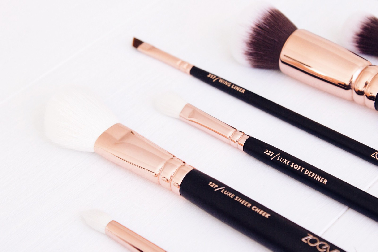 Zoeva Rose Gold Luxury Brush Set Review