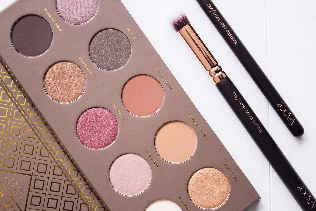 Zoeva Cocoa Blend Eye Shadow Palette Review
