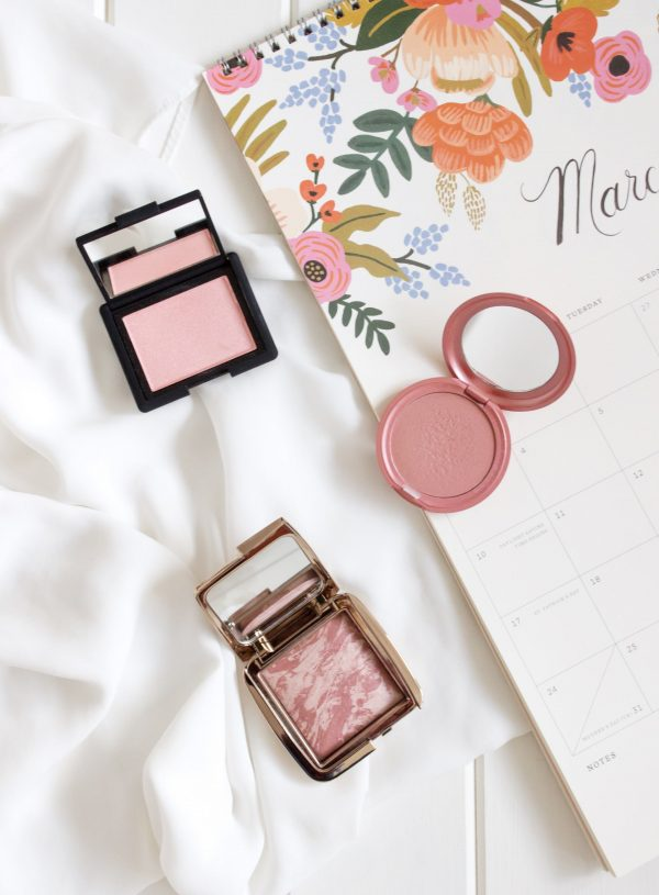 Three Blushes For Spring