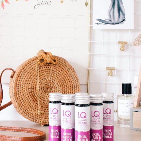 LQ Liquid Health Supplements Skin Hair & Nails
