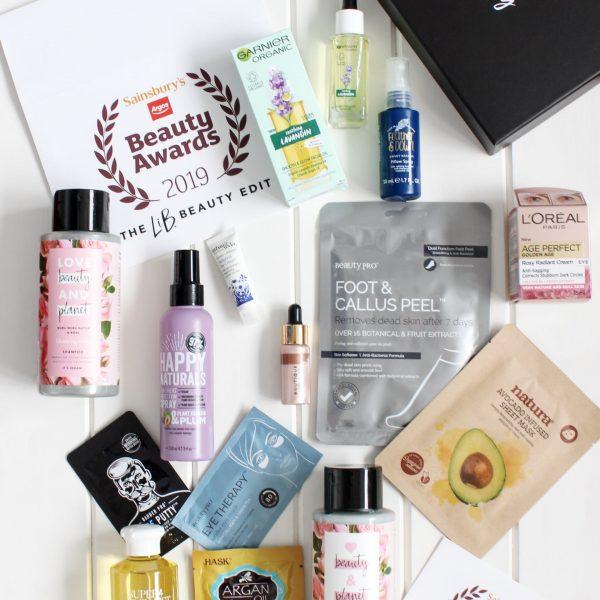 Latest In Beauty Sainsbury's Beauty Awards Box